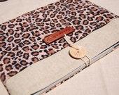 iPad Air case,iPad   4 cover, beautiful brown leopard case for iPad 2 , iPad3 and iPad 4Tablet case,iPad cover