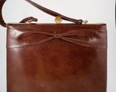 1960's Brown Handbag - Vintage Leon of California