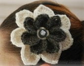 Two-Toned Vintage Style Blossom Brooch - CUSTOMIZABLE