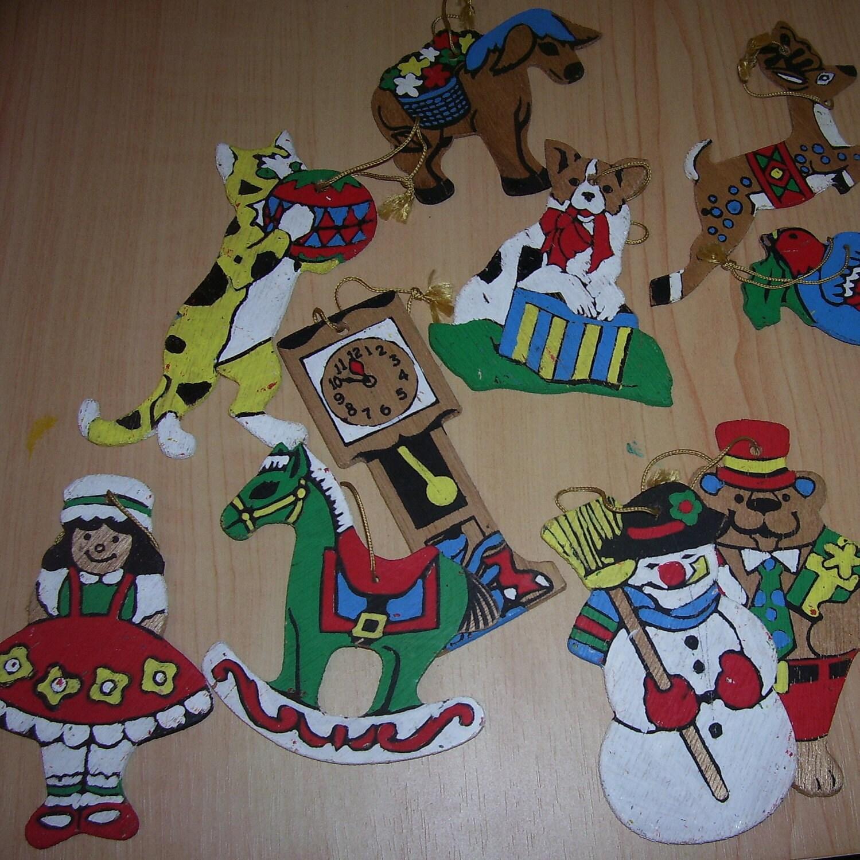Vintage Tree Ornaments 74