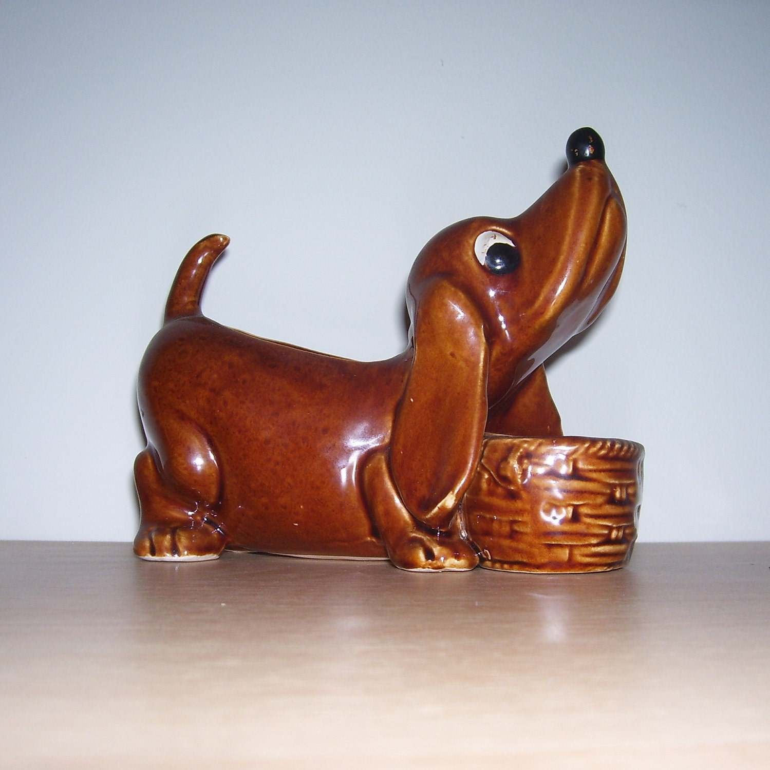 Dachshund Dog Planter Made In Japan By Thenuthatchvintage On Etsy