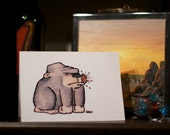 Odd Gorilla - Thank You/Mothers Day/Fathers Day Card