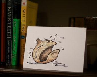 Odd Onion - Missing You/Goodbye Card