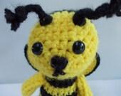 AMIGURUMI Pattern- Crochet Bumble Bee PDF DOWNLOAD