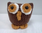AMIGURUMI Pattern- Crochet Owl PDF DOWNLOAD