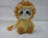 AMIGURUMI Pattern- Crochet Baby Lion PDF DOWNLOAD