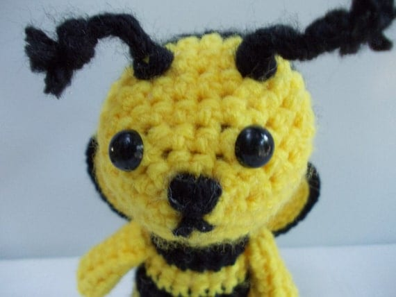 AMIGURUMI Pattern Crochet Bumble Bee PDF DOWNLOAD by ...