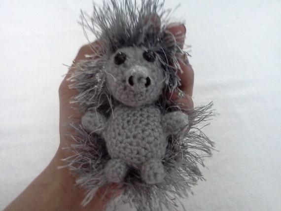 AMIGURUMI Pattern- Crochet Baby Echidna PDF DOWNLOAD