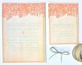 Rustic Wedding Invitation Southern Invite
