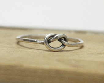 Forget Me Knot - Individual Victorian Love Knot Stacking Ring