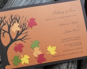 CUSTOM LISTING - Casey - 50 - Fall Bridal Shower Invitations