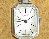 Vintage ladies wristwatch Luch made in USSR