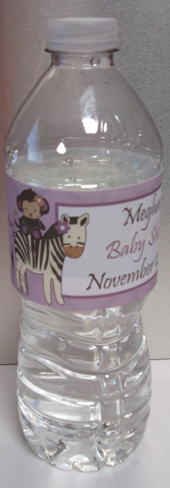 Personalized CoCaLo Jacana Girl Baby Shower Water by BDesigns4You