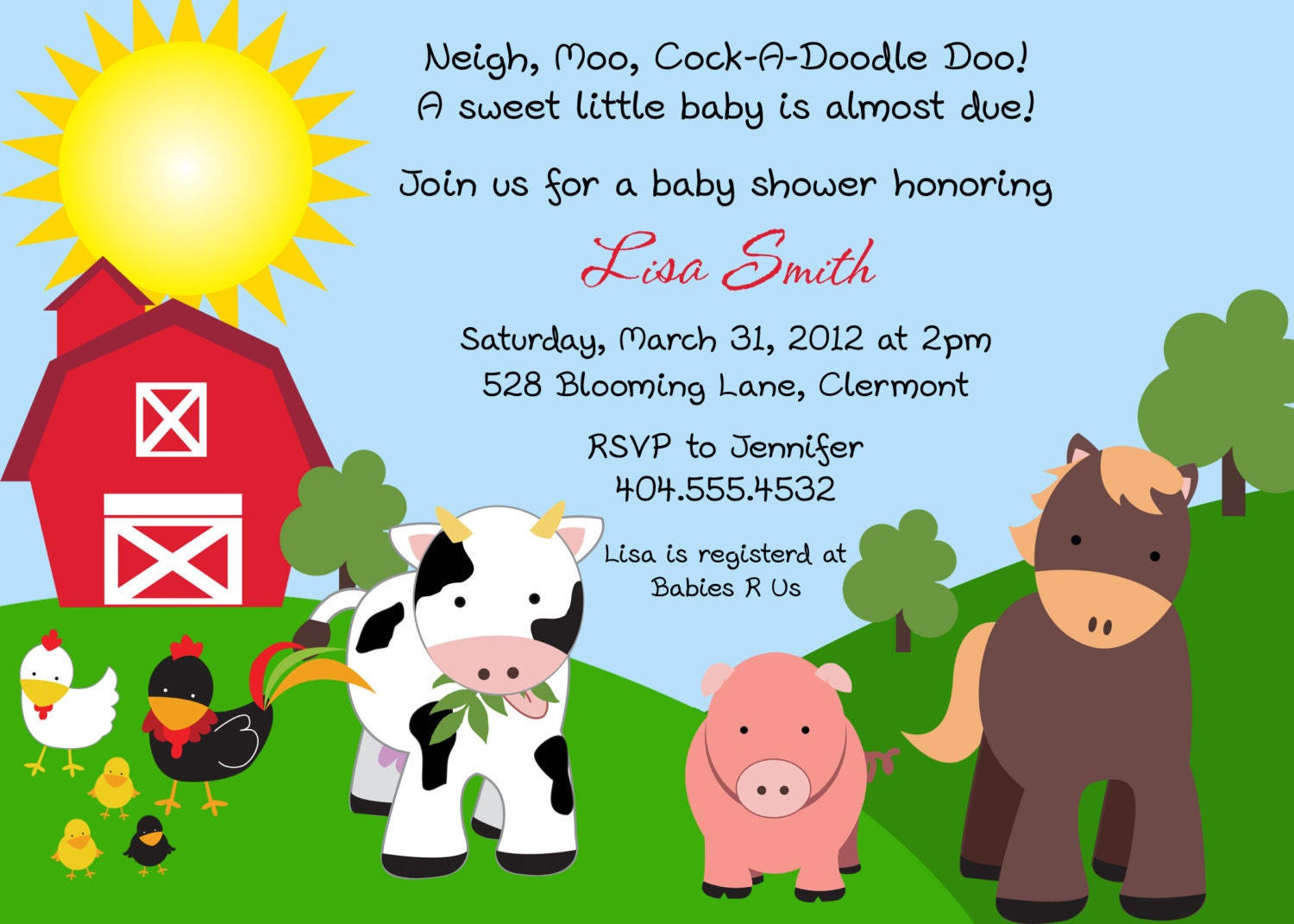 Cow Baby Shower Invitations with perfect invitations ideas