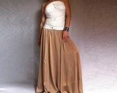Maxi Chiffon Skirt Dusty Rose Colour