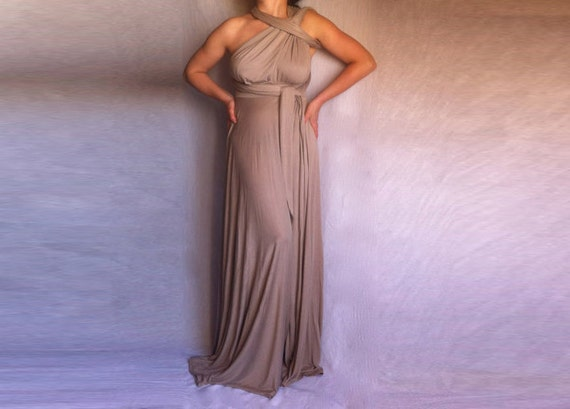 Infinity Convertible Dress Multi Way Wedding Custom order to your size