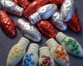 White Chocolate M&M Holiday Lights 24