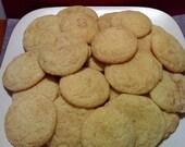 Baked SnickerDoodle Cookies 3 Dozen