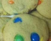 M&M Cookie Mix Double Batch