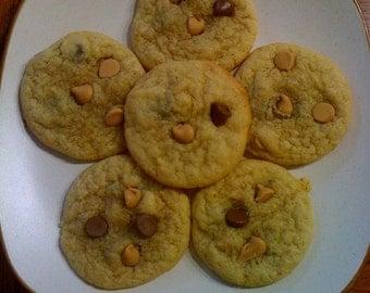 Baked Peanut Butter Chocolate Chip Cookies 3 Dozen