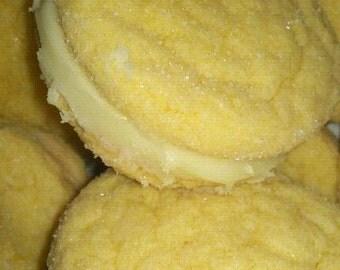 BAKED Lemon Cakedoodles sandwich cookies 2 dozen