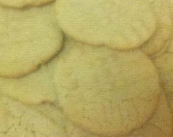 Peanut Butter Cookies BAKED 3 dozen