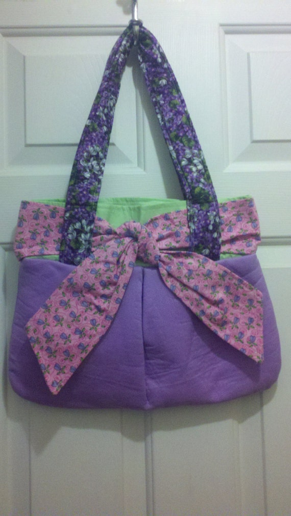 EDS Handmade Handbag Sweet Grape OOAK