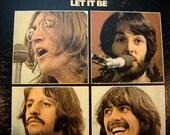The Beatles - Let It Be LP - 1970 - Apple Records AR 34001 - Vintage Vinyl LP Record Album