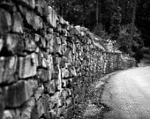 Stone Walls - Original Fine Art Photograph, FREE SHIPPING