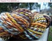 On Sale Handspun Shetland Bulky Yarn: Bristling