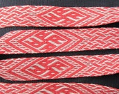 Made to Order Dragons' Head Pattern from Birka Tablet Card  Weaving Band
