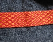 Kivrim Fire labyrinth Card Tablet Weaving Band Belt Trim