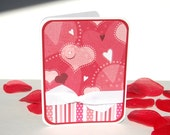 Handmade Love You Card - Sew In Love - Free US Shipping