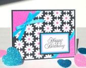 Handmade Birthday Card - Little Bo Peep