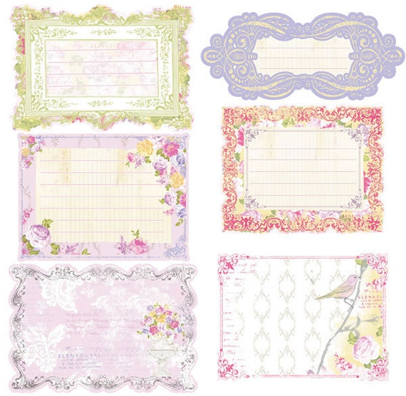 Prima  - Meadow Lark Collection - Notecards