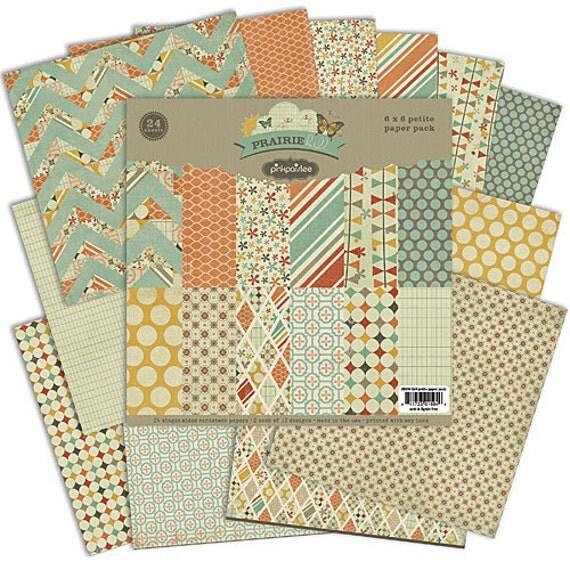 Pink Paislee - Prairie Hill - 6x6 Paper Pack