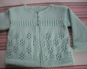 Hand knit sweater for your little girl