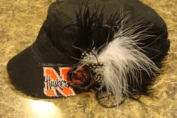 Nebraska Cornhusker Custom Design Military Hat