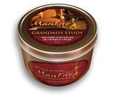 ManFire MANLY Scented Candles PIPE TOBACCO Unique Gifts