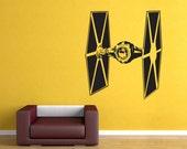 Star Wars TIE Fighter sticker vinyl wall decal WD-0304