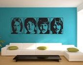 The Beatles Greatest popular group Vinyl Wall Art Decal  WD-0361