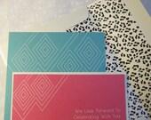 Chic Animal Print - Wedding Invitation Set Sample