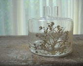 glass bottle shabby chic - 'tree of life'