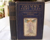 Scarce-Grimm's Fairy Tales,Millicent & Githa Sowerby Grant Richards,London1909-color plates/black/white illustrations