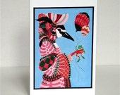 Renaissance Night Heron Card