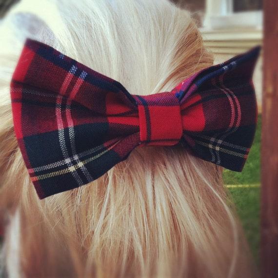 Big kilt hair bow