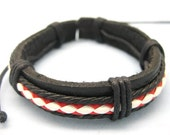 Man cuff leather bracelets the best gift for man  cowboy