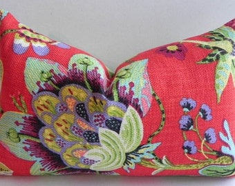Beautiful-14X20-Both Sides-Decorative Pillow Cover Braemore Home Decor Fabric-Floral-Throw Pillow-Accent Pillow-Lumbar Pillow-Couch Pillow
