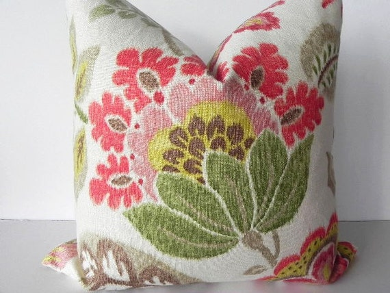 pillow cover 20x20 home decor fabric throw pillow living room pillow