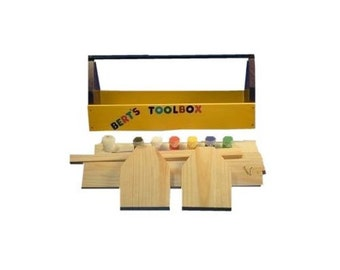 Wood Tool Box Craft Kit